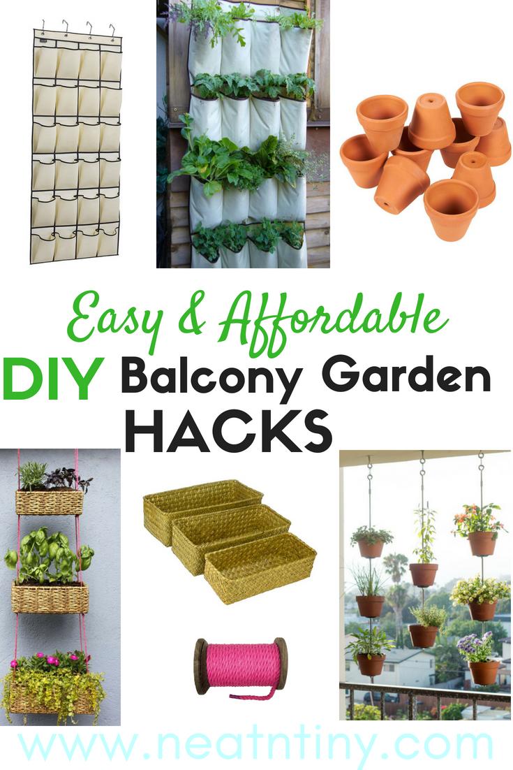 DIY Balcony Garden Ideas