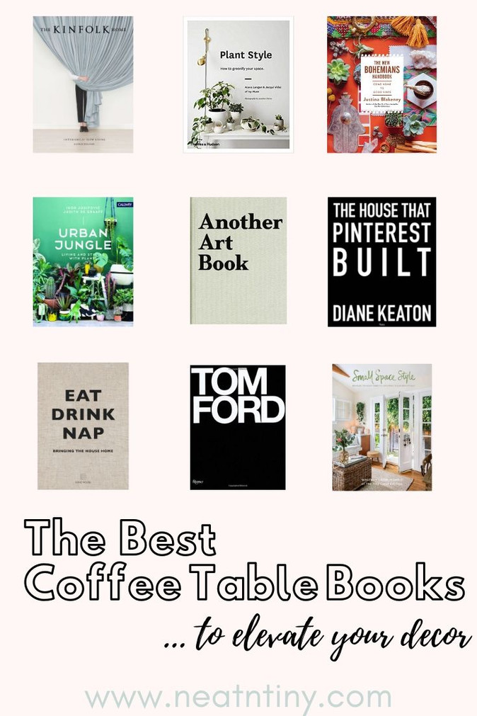 9 Best Coffee Table Books to Elevate  Your Decor