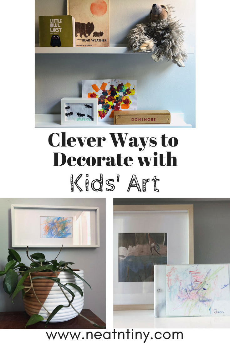 How to display kids' art