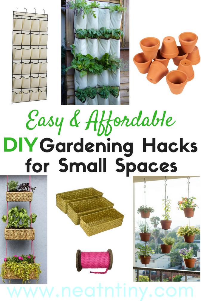 8 Genius Small Garden & Balcony Ideas