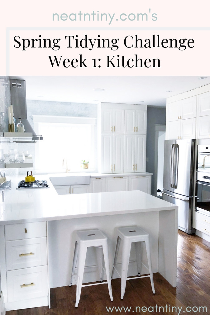 Spring Tidying Challenge - Week 1: Kitchen & Dining Area