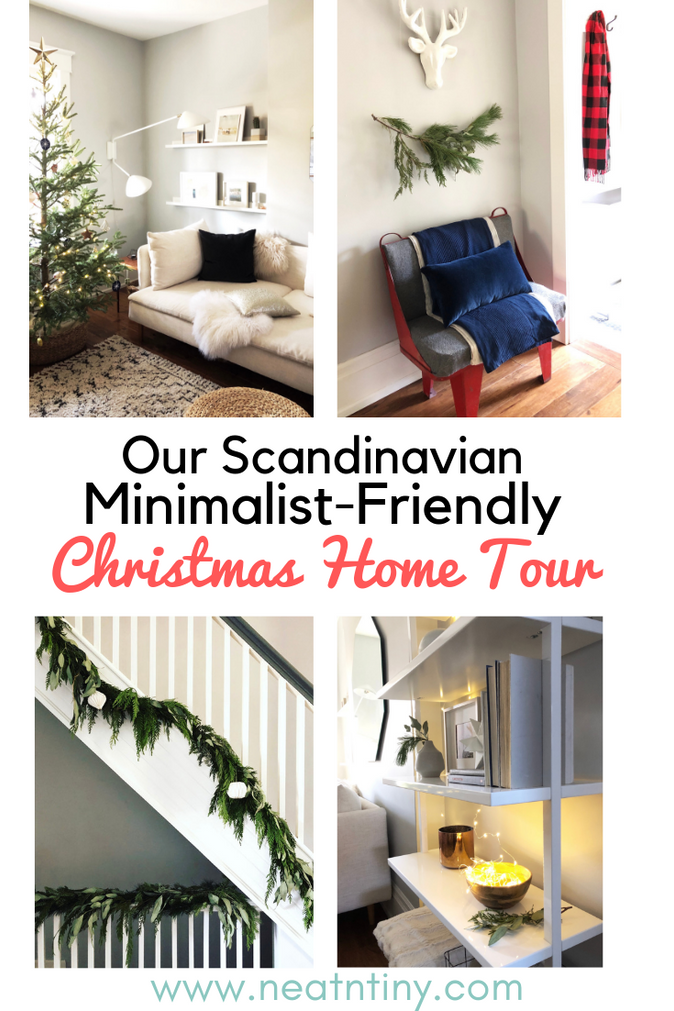 Our Scandinavian-Inspired, Minimalist-Friendly Christmas Decor: Home Tour 2018