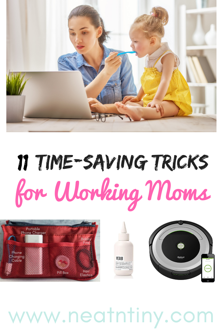 Time-Saving Tricks for Working Moms