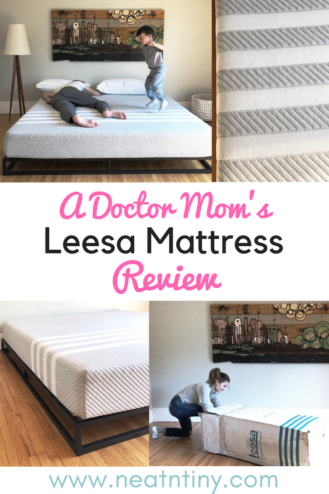 Our Leesa Mattress Review After One Month & Discount Code