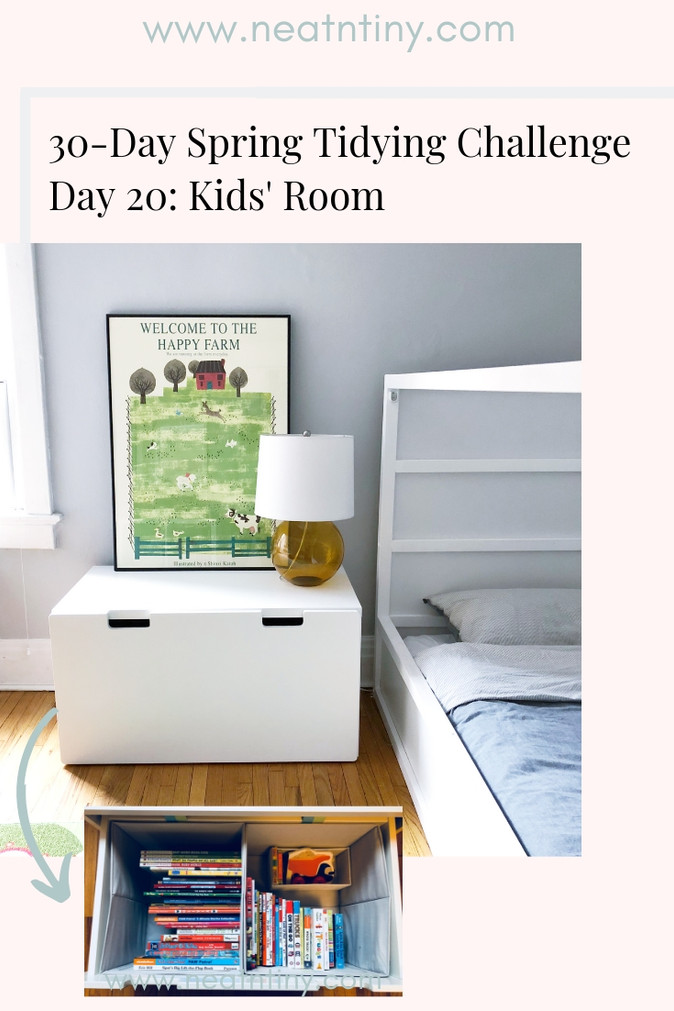 How to Organize the Kids' Room