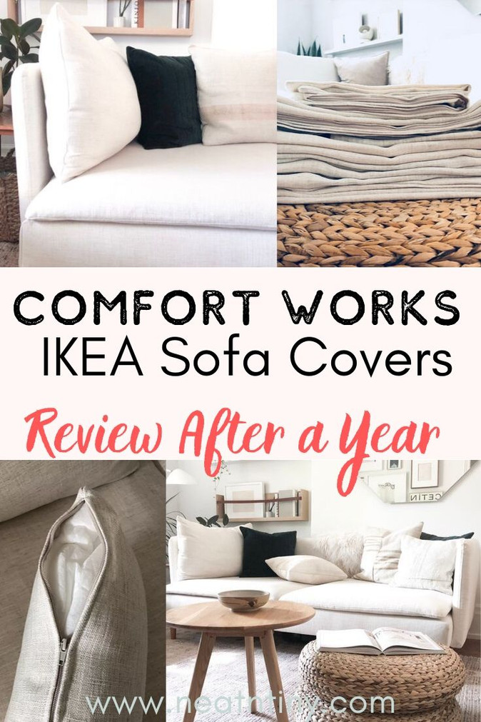 Comfort Works IKEA Replacement Covers Review: Update After 1 Year
