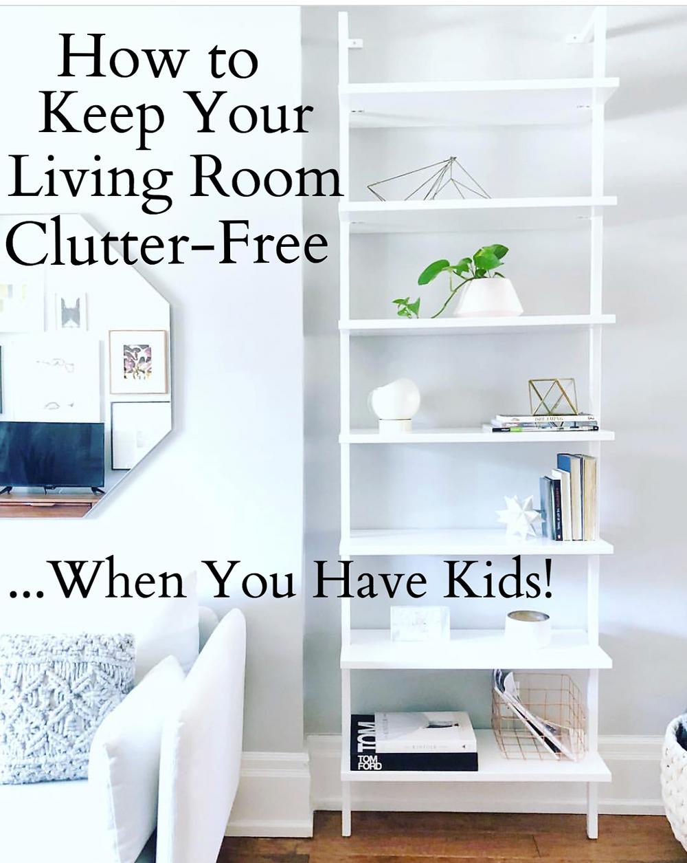 Living room toy storage