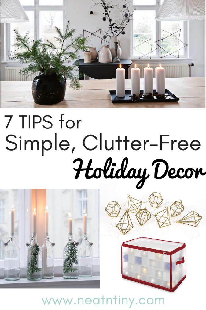 7 Tips For Clutter-Free Christmas Decor