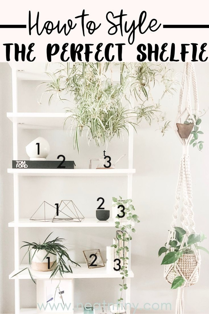 How to Style Bookshelves Like A Boss