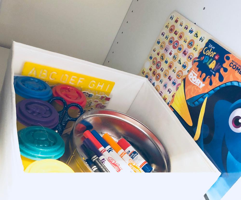 Kitchen toy storage