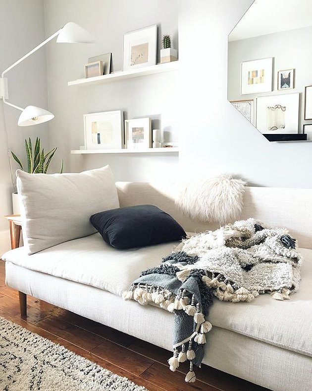 Awesome Our Ikea Soderhamn Makeover Comfort Works Sofa Covers Review Bralicious Painted Fabric Chair Ideas Braliciousco