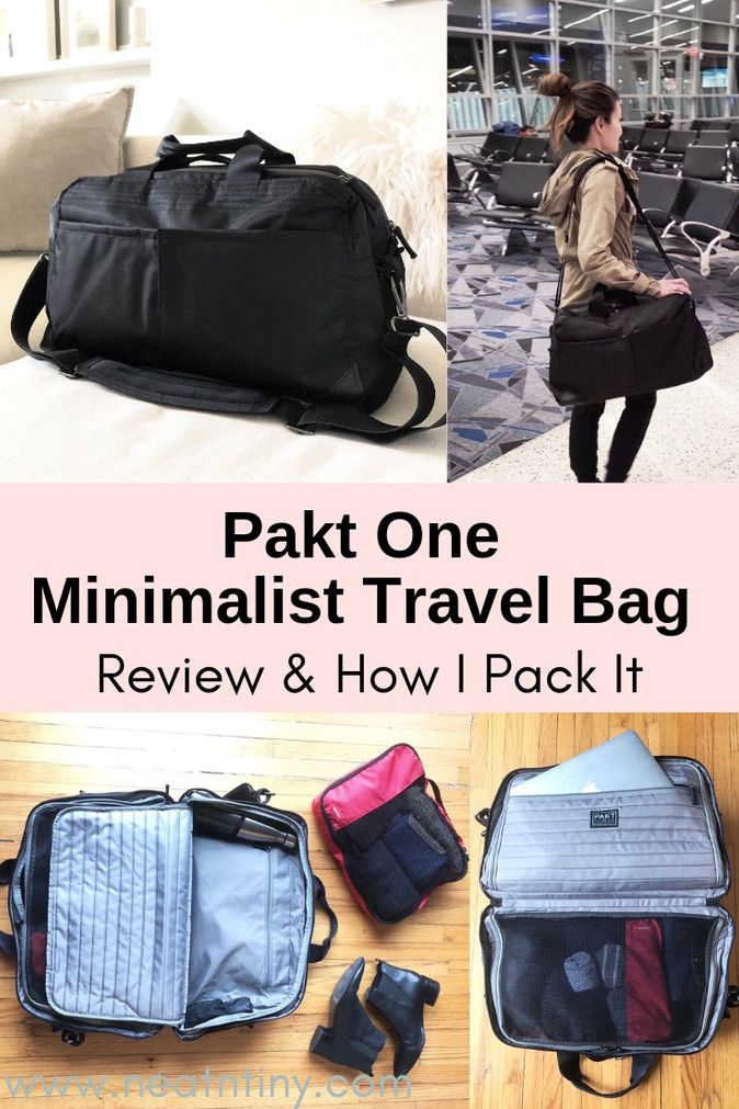 Pakt One Review & How I Pack My Pakt