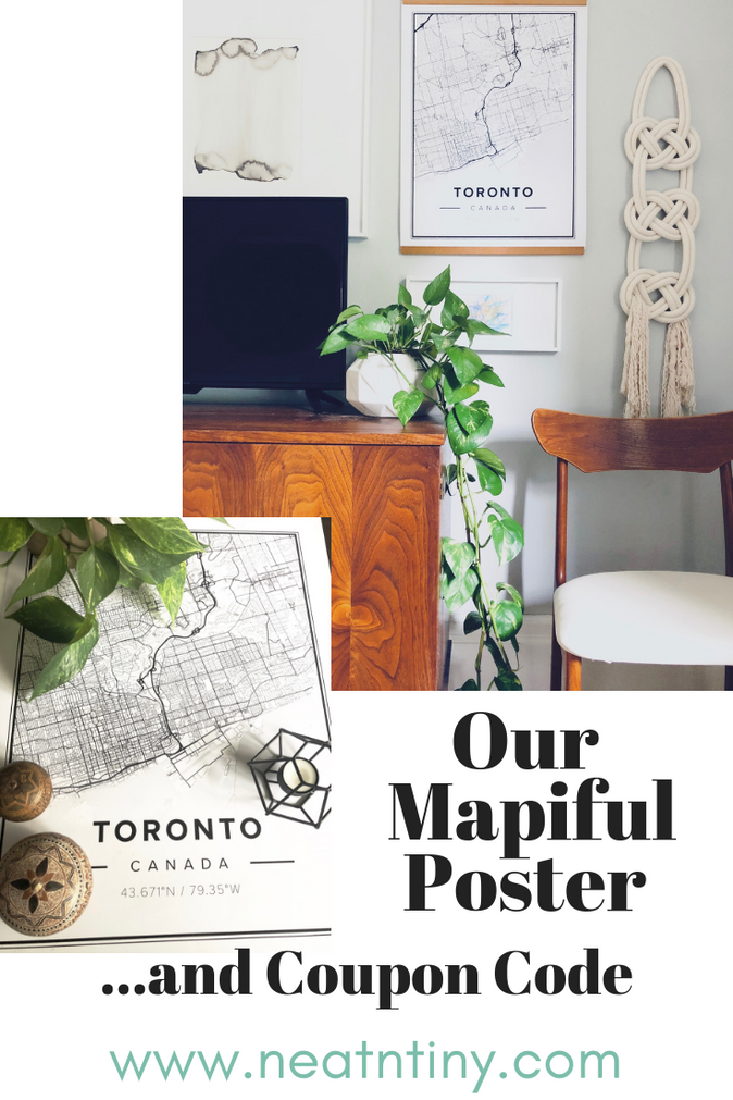 Meaningful Map Art: Our Mapiful Poster & Coupon Code