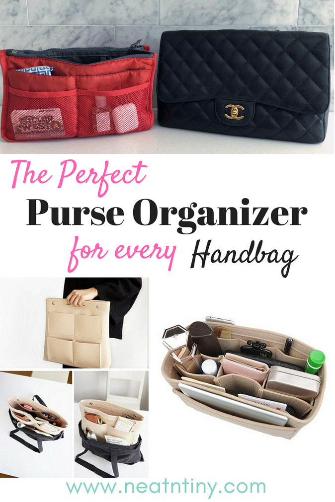 How to Use A Purse Organizer to Declutter Your Handbag