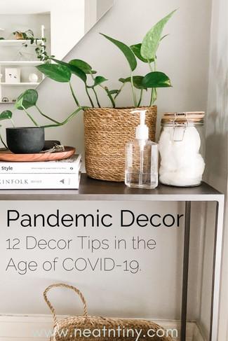 Pandemic Decor