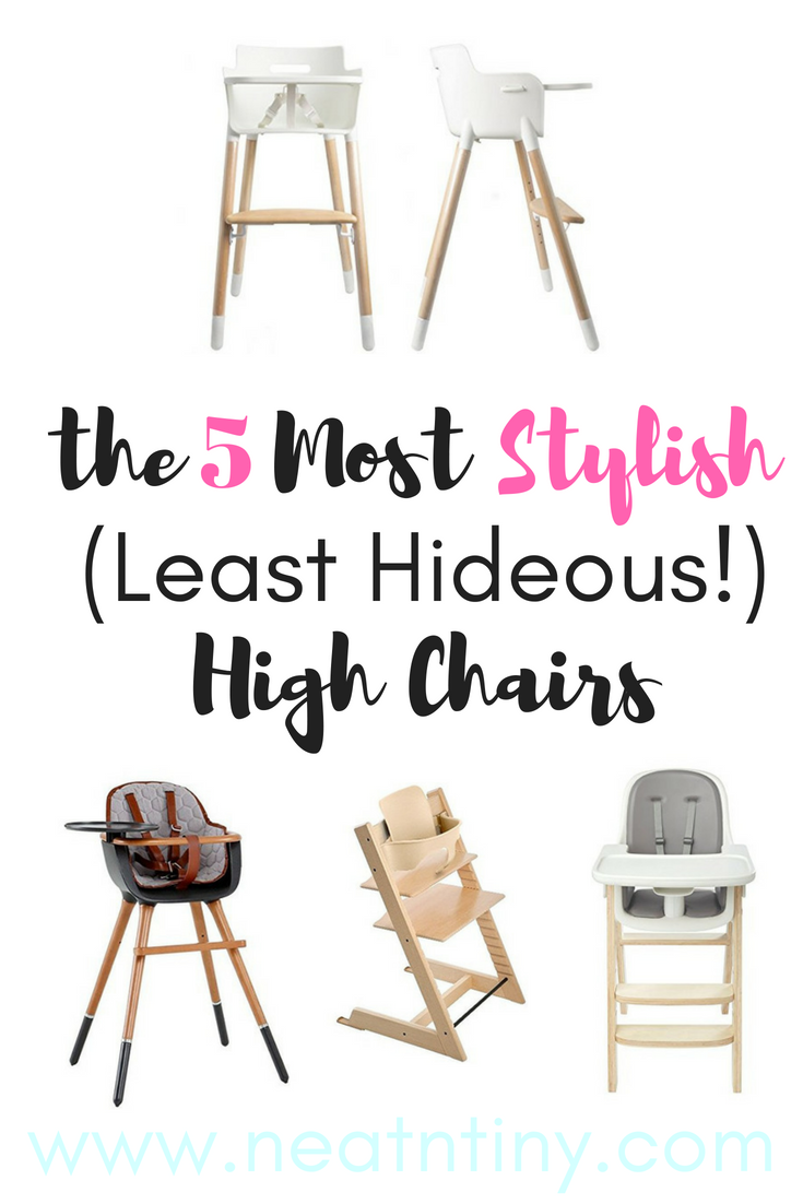 stylish high chairs