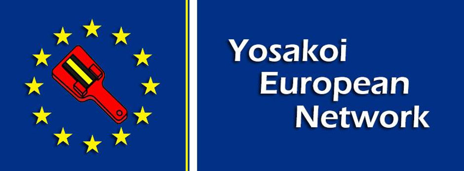 Yosakoi European Network Banner