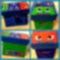 storage box for my nephews 4th anniversa