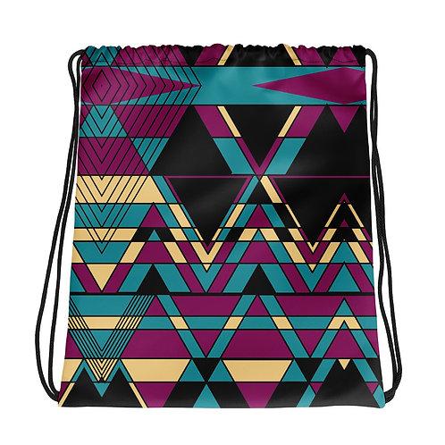 KWoo10 Designs - Drawstring bag