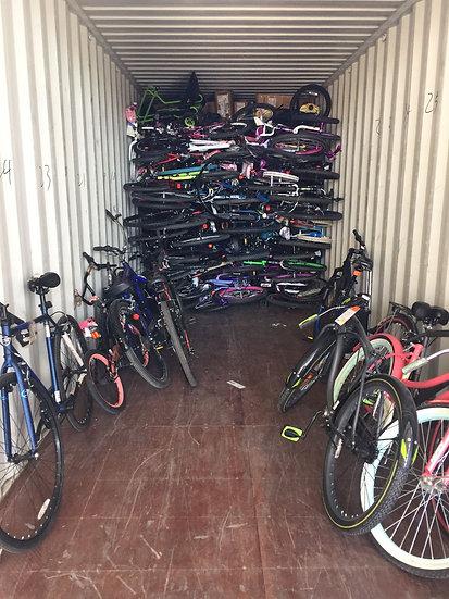 Contenedor 40HQ Bicicletas