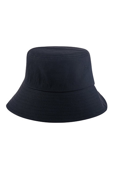Hdt3236bk - Black Plain Bucket Hat