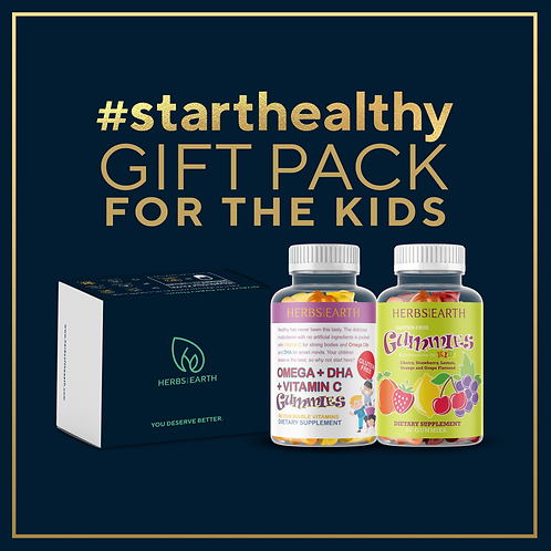 Kids Health Gift Pack OMEGA DHA GUMMIES and KID MULTI GUMMIES