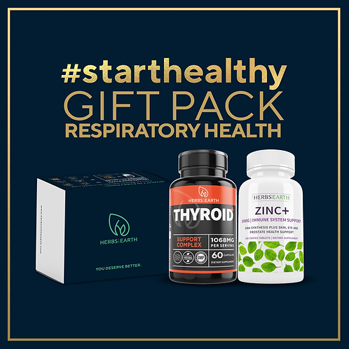 Respiratory Health Gift Pack - Thyroid Support and Zinc