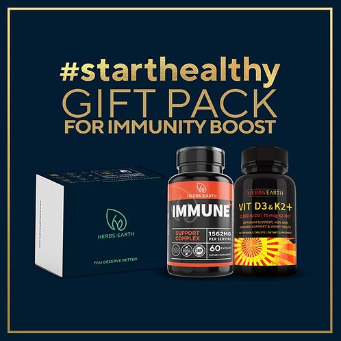 Immunity Boost Gift Pack 2 - Vitamin D3 + K2