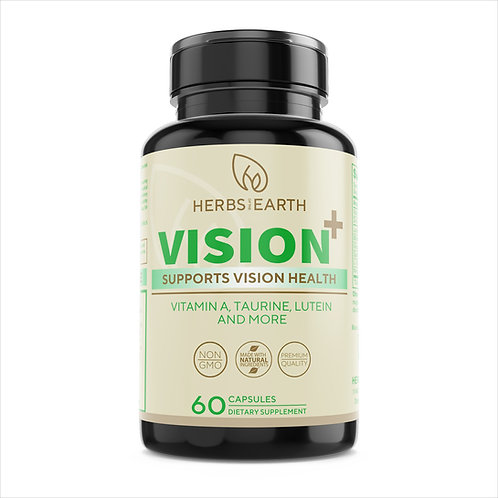 Vision Support - Eye Vitamins, Tired Eyes, Blurry Vision, Screen Fatigue