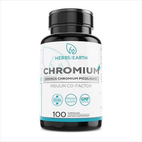 Chromium Picolinate Supports Health Blood Sugar Levels and Glucose Metabolism