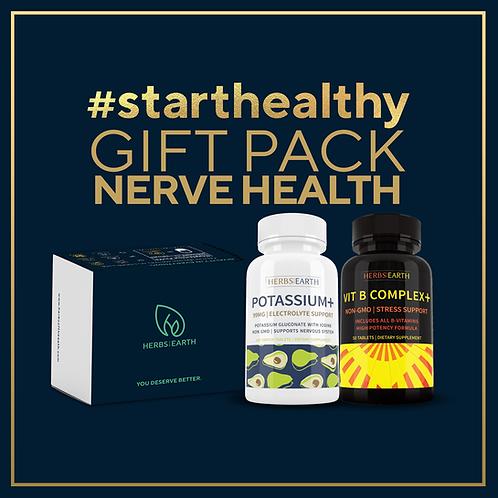 Nerve Health Gift Pack Potassium and Vitamin B Complex
