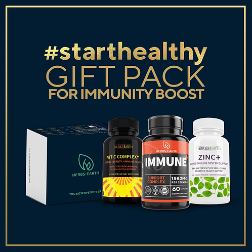Immunity Boost Gift Pack - Vitamin C 500mg, IMMUNE and ZINC