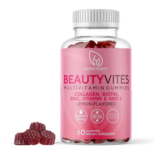 BeautyVites Collagen, Biotin, Zinc, Vit C and E Gummies