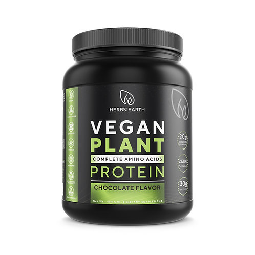 Vegan Plant Based Protein Powder Chocolate