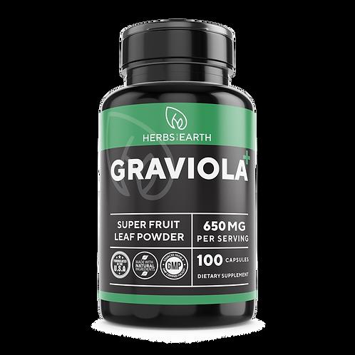 Graviola 650 mg NON-GMO