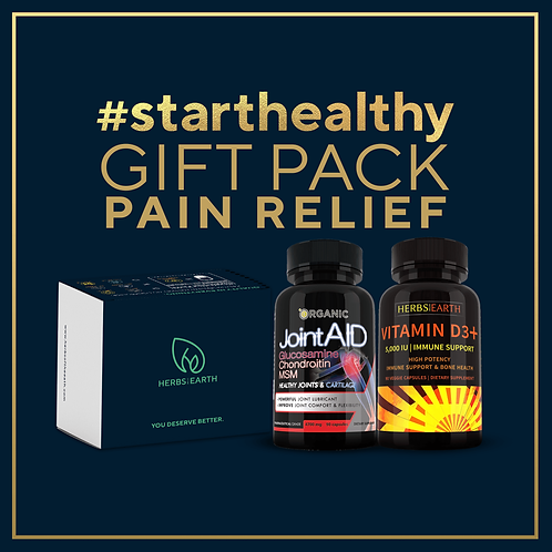 Pain Relief Gift Packs - Joint Aid and Vitamin D3 5000IU