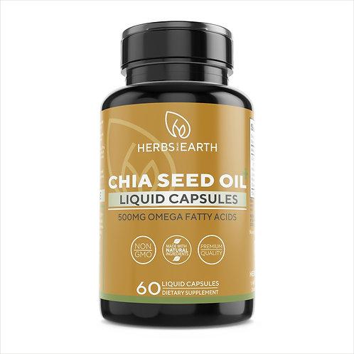 Chia Seed Oil Astaxanthin Vegan Omega 3,6,9