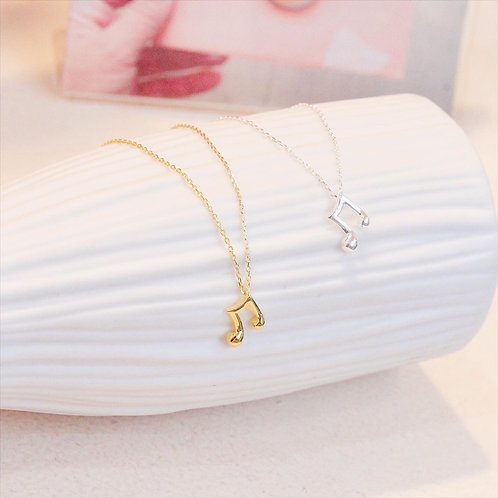 🎵 Music Note Necklace