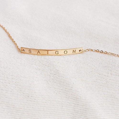 Custom bar bracelets