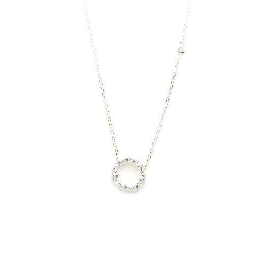 Sparkling Circle of Stars Necklace