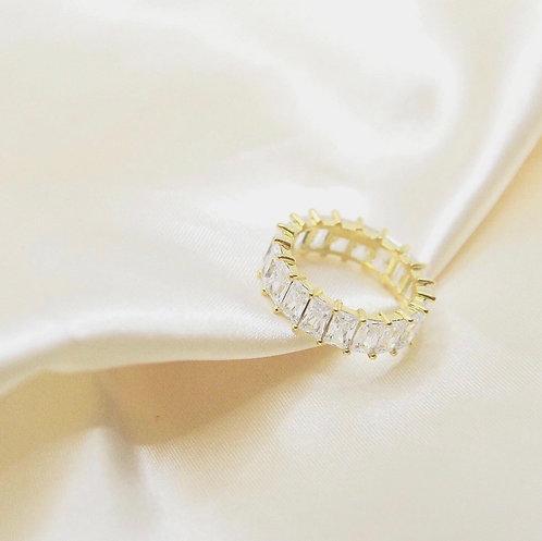 Eternity CZs Baguette Ring