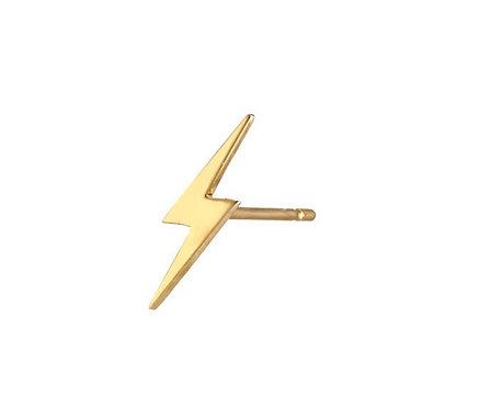 Tiny Lighting Bolt Earrings
