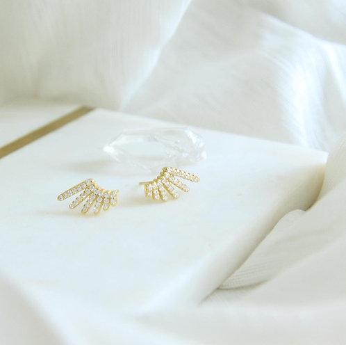 Sparkle Angle earrings