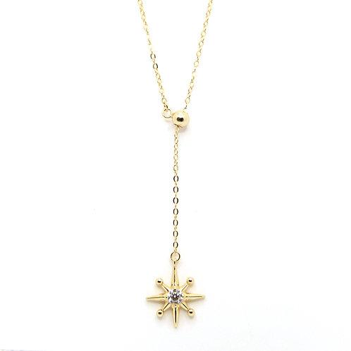 Golden Stella Adjustable Necklace