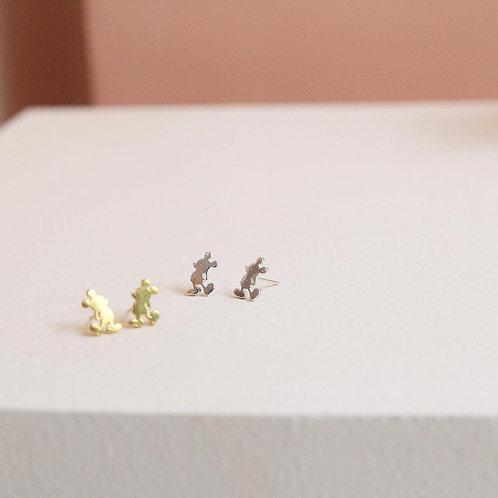 Mickey Stud Earrings