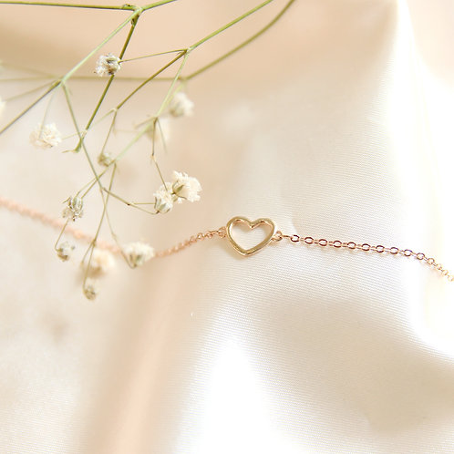 Petite Heart Bracelet