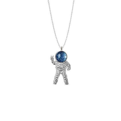 Space men necklace