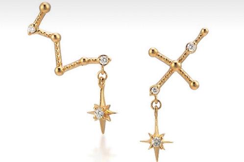 Stars in the sky earrings