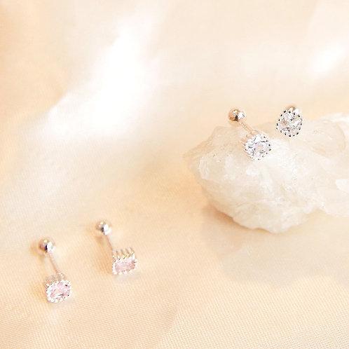 Sparkle stud earring