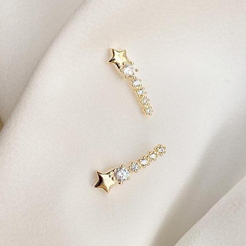 Czs shooting star earring
